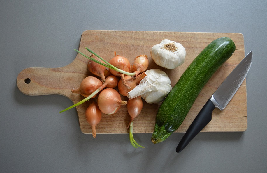 Qué cuchillo es el que debes utilizar con cada verdura.